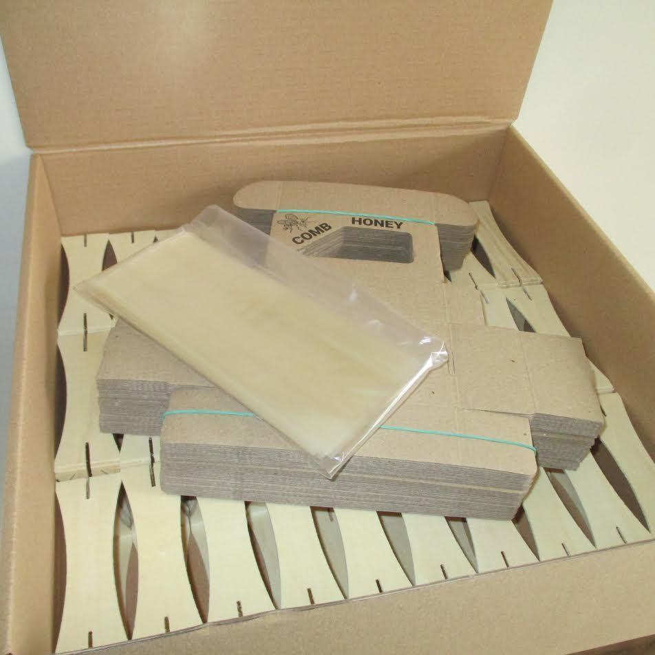 Image comb honey making kit